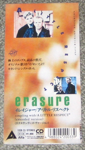 Erasure - A Little Respect Album