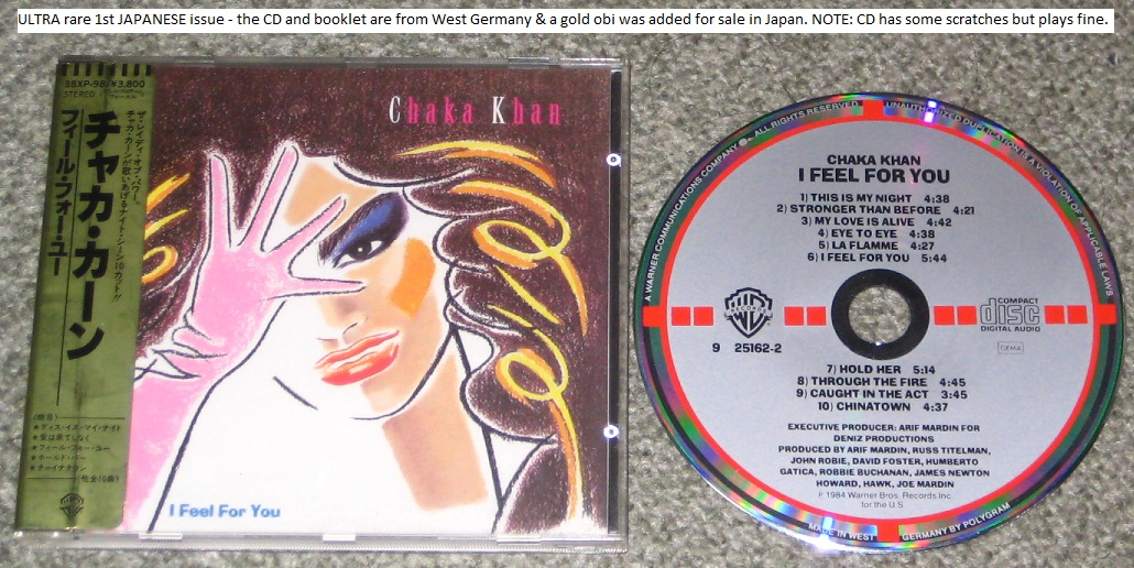 Chaka Khan - I Feel For You - Original!