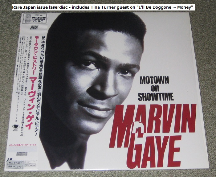 GAYE, MARVIN - Motown On Showtime - Laser Disc