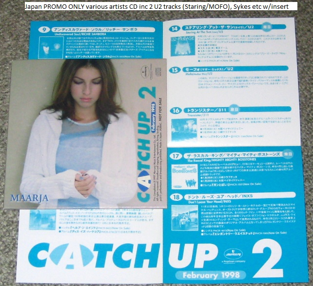 U2 - Catch Up Feb 1998