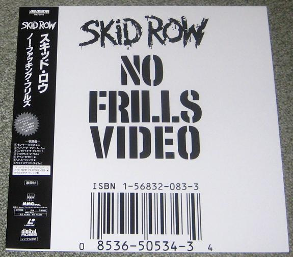 Skid Row - No Frills Video