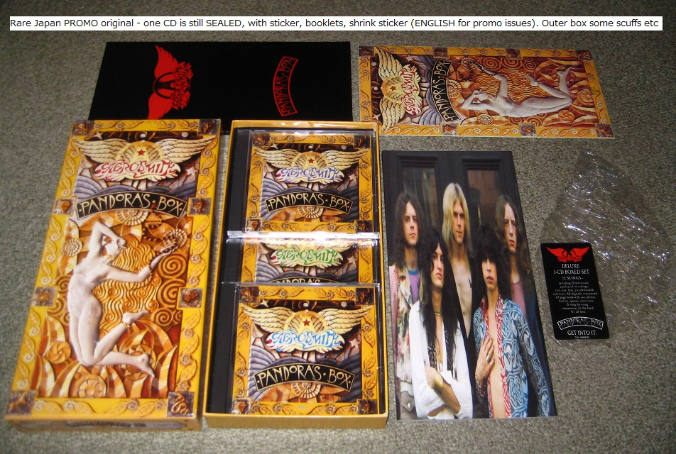 aerosmith pandora's box