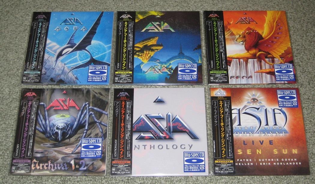 6 X Japan Promo Card P