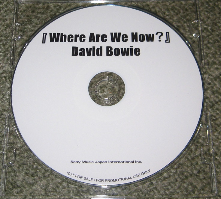Bowie, David - Where Are We Now?