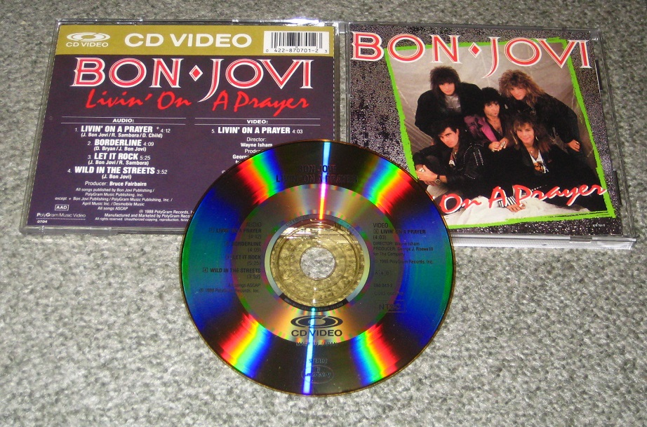 Bon Jovi - Living On A Prayer Cdv