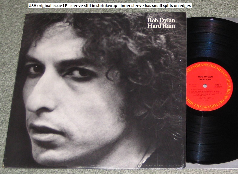 Dylan, Bob - Hard Rain - Usa Original