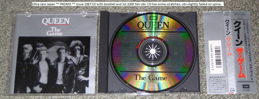 Queen - The Game - Promo