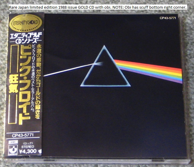 Pink Floyd - Dark Side Of The Moon Gold Cd