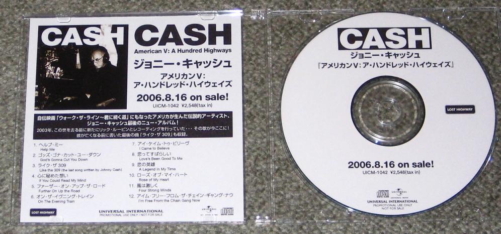 Johnny Cash - American V-a Hundred Highways Pictures ...