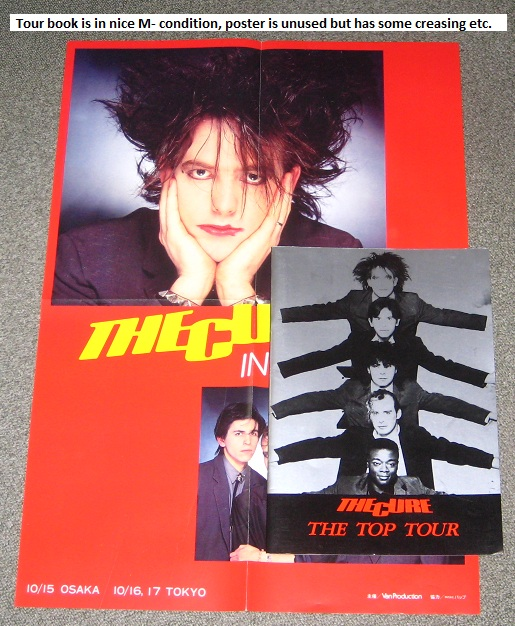 Cure - Japan 1984 Tour Book + Poster Album