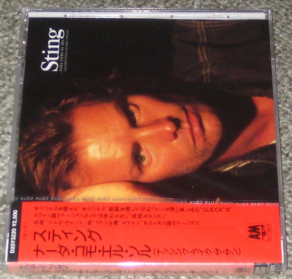 Sting - Nada Como El Sol Single