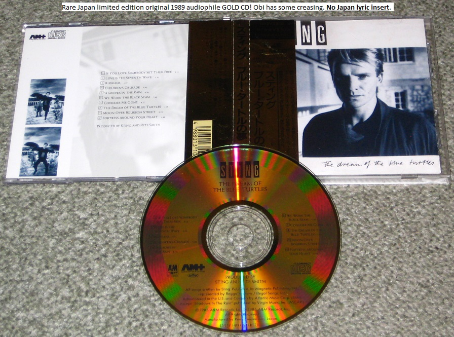 Sting - Dream Of The Blue (gold Cd)