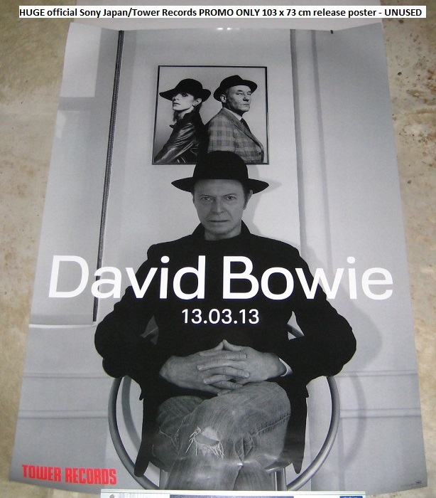 Bowie,David Next Day Japan Promo Poster POSTER