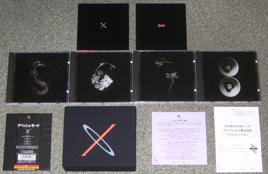 Depeche Mode X2 BOX