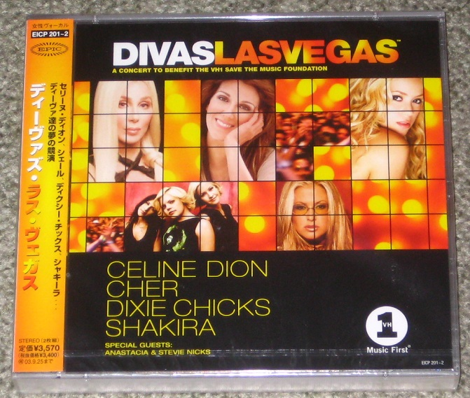 Dion,Celine Divas+Las+Vegas+Cd/Dvd+Concert VIDEO:DVD