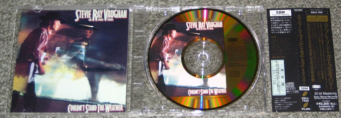 Stevie Ray Vaughan - Couldnt Stand The Weather Gold