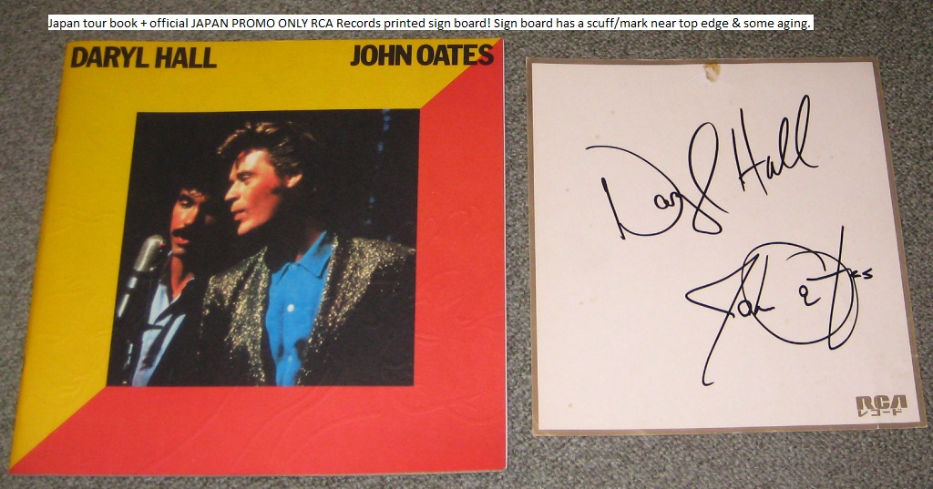 Hall And Oates Japan 1984 Tour Book + More BOOK