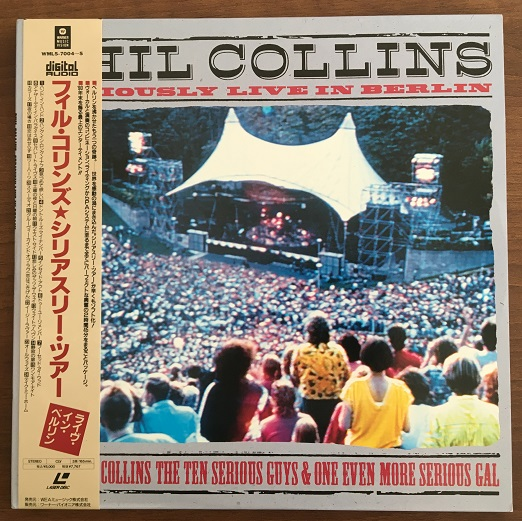 COLLINS, PHIL - Seriously Live In Berlin - Laser Disc
