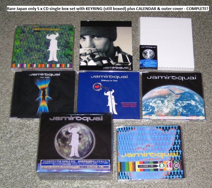 Jamiroquai The Single Box Complete! BOX