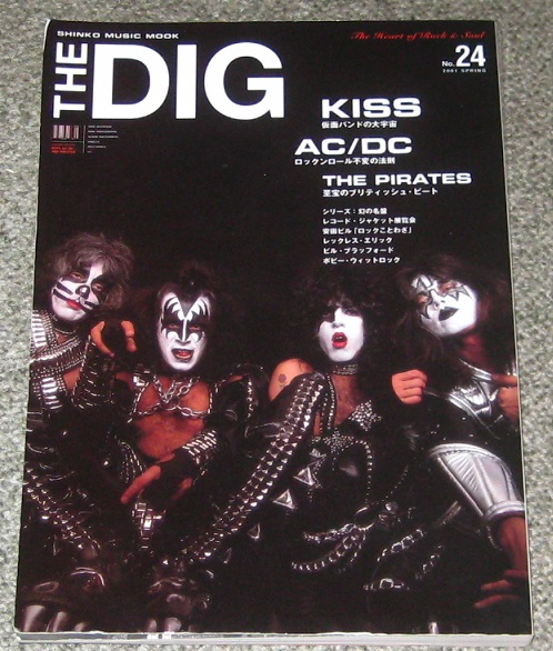 Kiss The Dig Kiss And Ac/Dc Special MAGAZINE