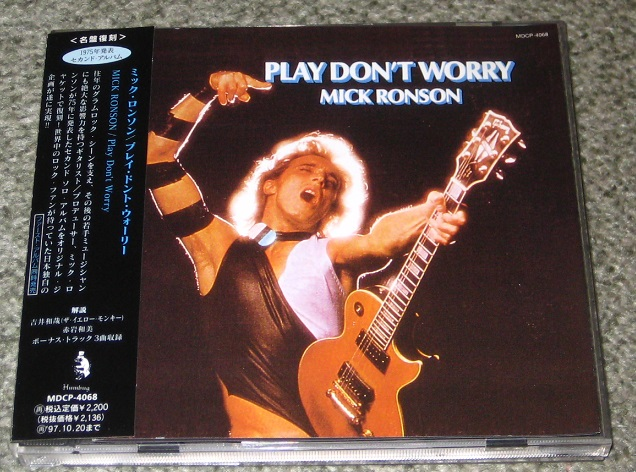 Play Don't Worry - Mick Ronson   Songs, Reviews, Credits ...