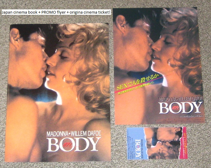 Madonna - Body Of Evid. Film Book + More