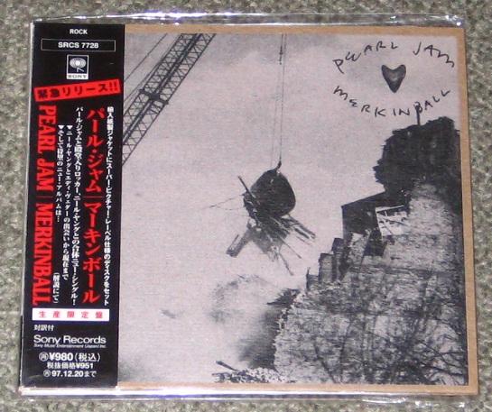 Pearl Jam - Merkinball Album