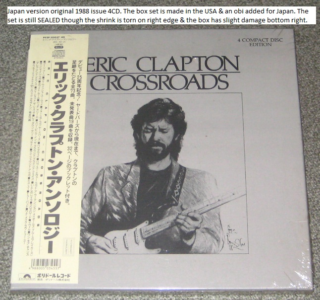 Clapton, Eric - Crossroads 4cd Box - Sealed