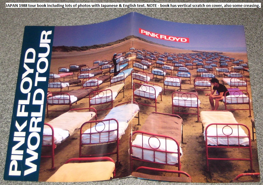 Pink Floyd - Japan 1988 Tour Book