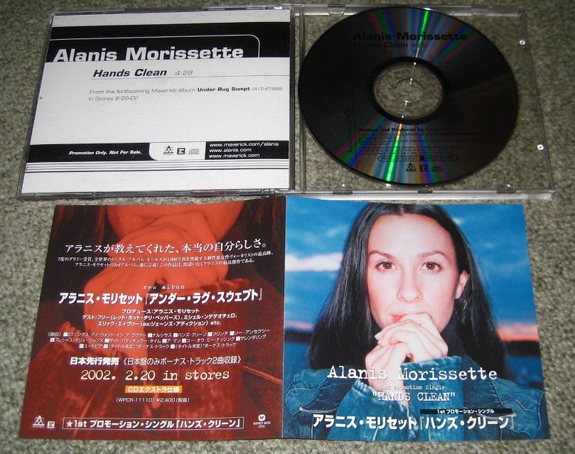ALANIS MORISSETTE - Hands Clean - CD