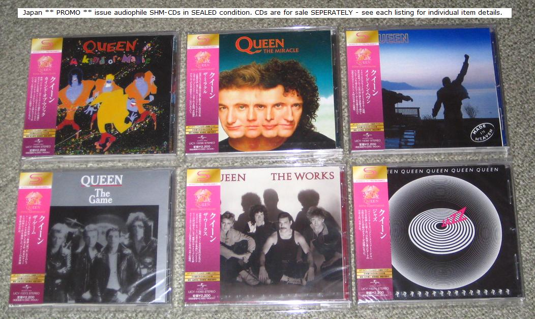 Queen - The Works - Promo Shmcd