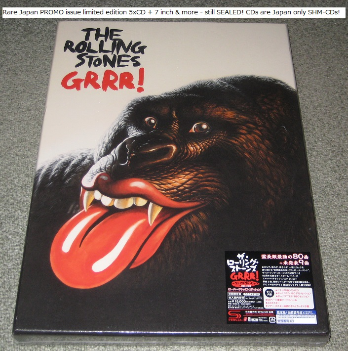 Album Grrr By The Rolling Stones On Cdandlp