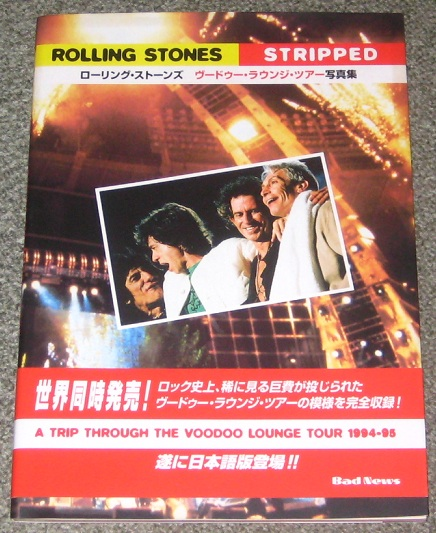 Rolling Stones - Stripped V.l. Tour Photobook