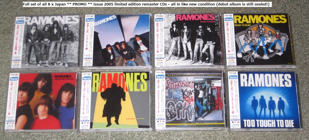 Ramones Records Vinyl And Cds Hard To Find And Out Of Print