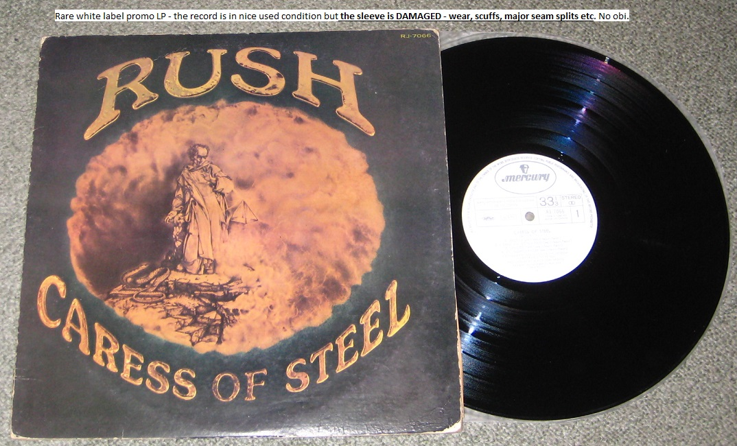 Rush - Caress Of Steel - Promo