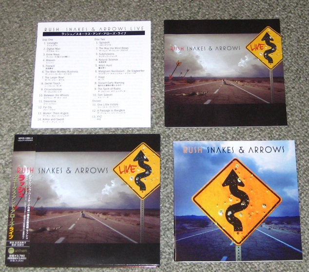 Rush - Snakes & Arrows Live CD