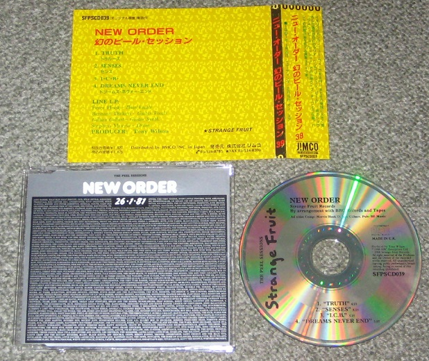 New Order - The Peel Sessions Jpn Version