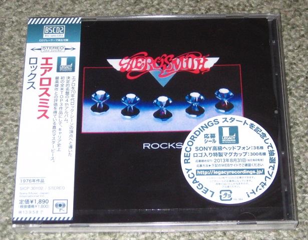 Aerosmith - Rocks - Blu Spec Cd