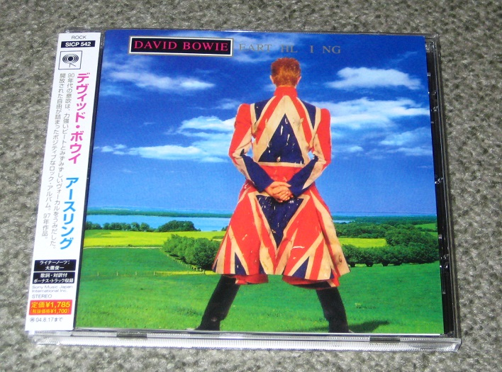 David Bowie Earthling Records Lps Vinyl And Cds Musicstack