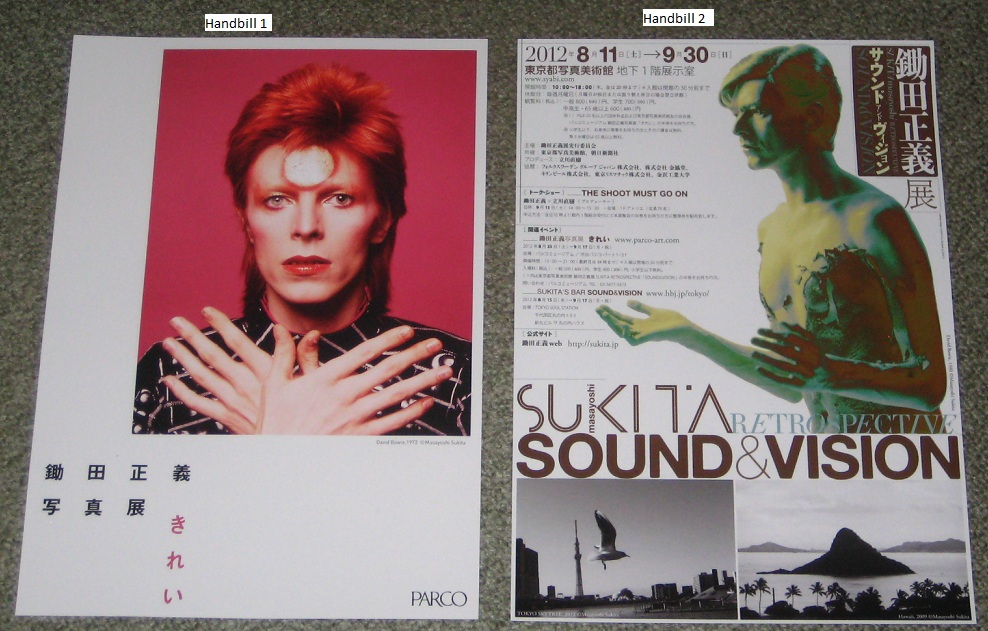 2 X Japan Exhibition Handbills