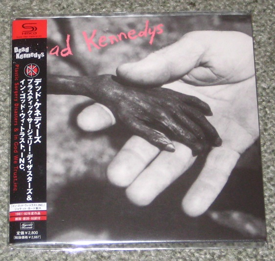 Dead Kennedys Plastic Surgery Disasters Records Lps