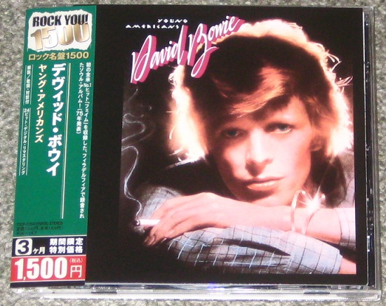 David Bowie Young Americans Single Bowie, david - young americans