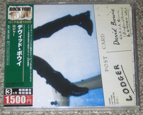 Bowie, David - Lodger Record