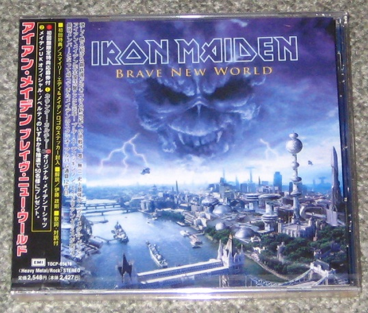Iron Maiden Brave new world (Vinyl Records, LP, CD) on CDandLP