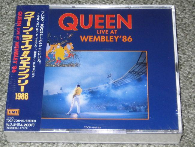 Queen - Live At Wembley LP