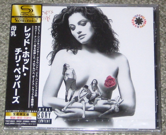 Red Hot Chili Peppers - Mother's Milk Shm Cd
