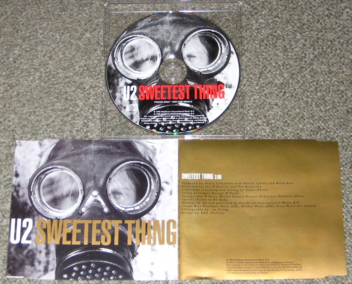 U2 - Sweetest Thing Record