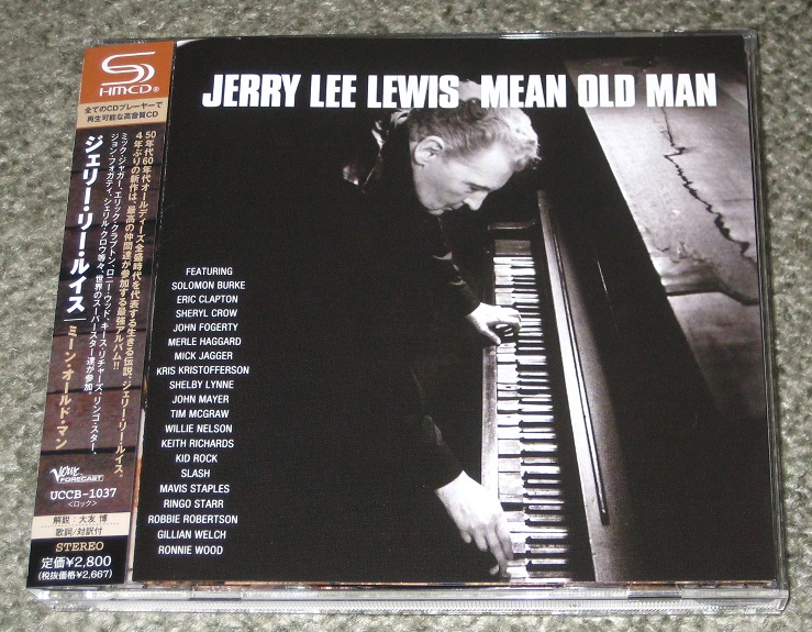 Rolling Stones - Mean Old Man/jerry Lee Lewis