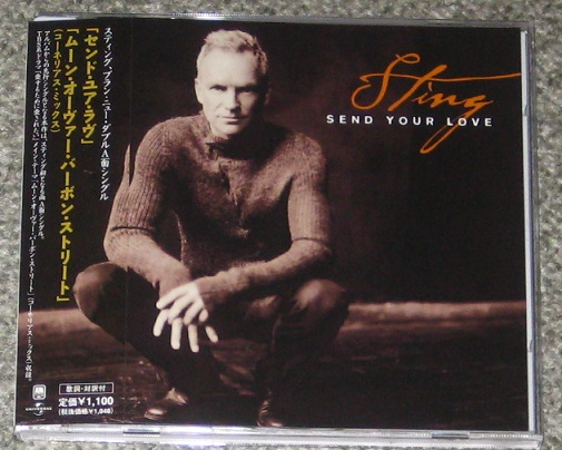 STING - Send Your Love Radio Edit 3:38/moon Over Bourbon Street Cornelius Mix/moon Over Bourbon Street Corne