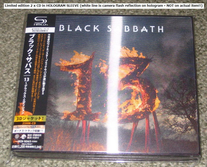 13 Deluxe Edition 2xcd